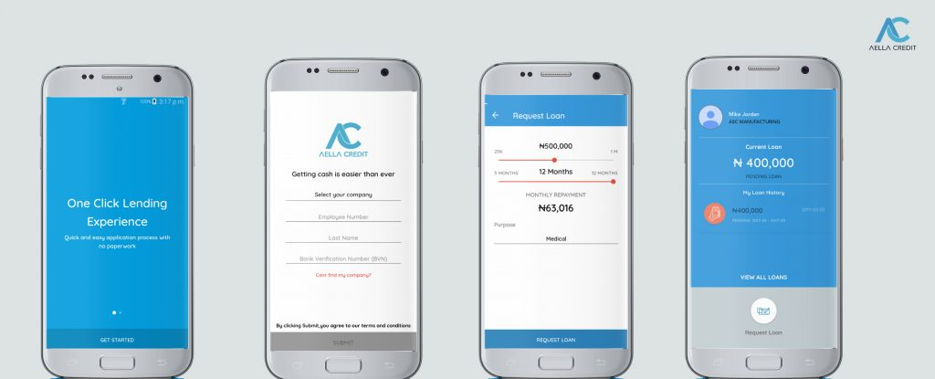 instant online loan in Nigeria by Aella credit