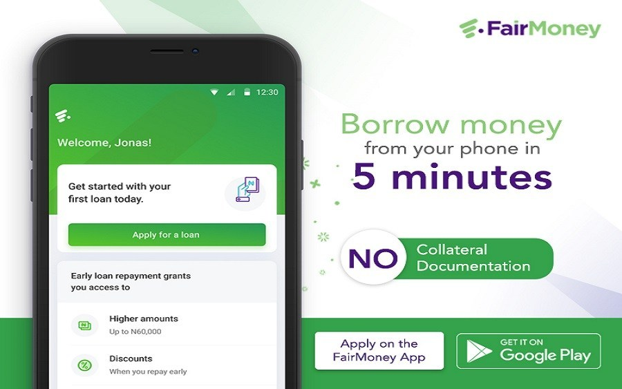 instant online loan in Nigeria fairmoney