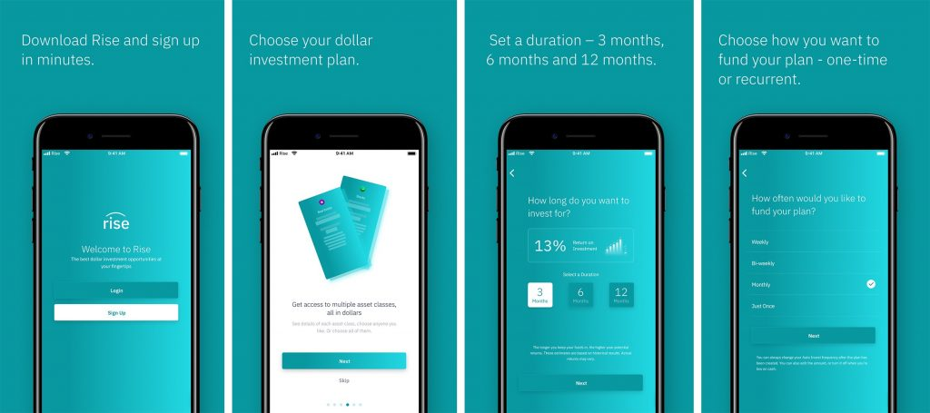 rise vest dollar investment app review - koboline