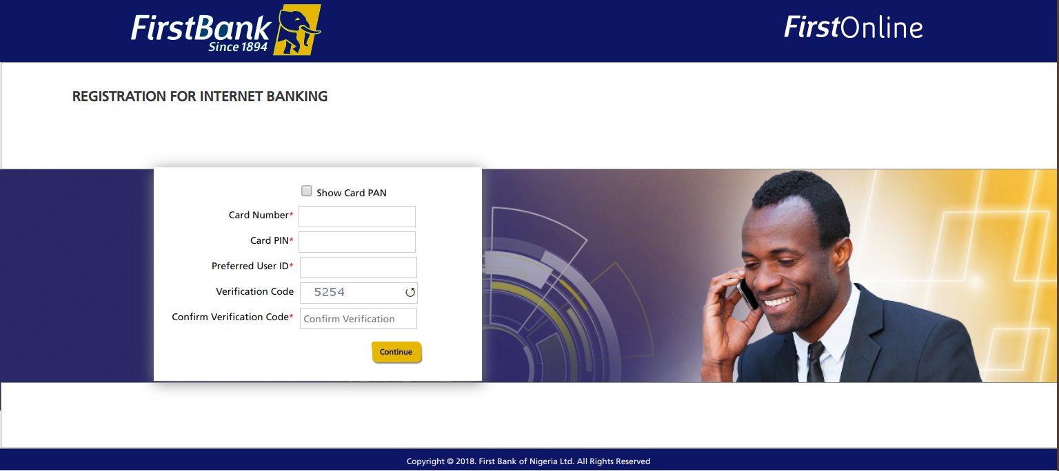 First bank Nigeria online banking: Registration, Activation and Features in 2020
