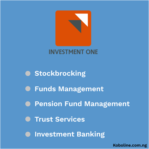 Investment one review: An all for one Investment company