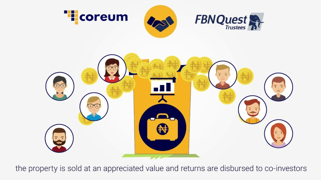 coreum real estate investing crowdfunding platform