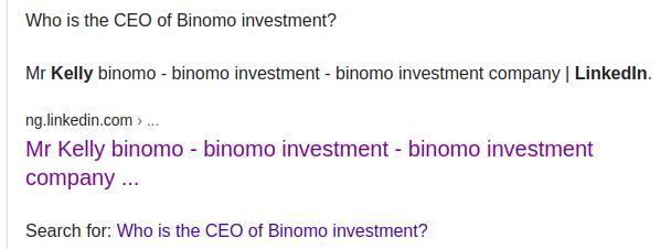 binomo investment scam ceo