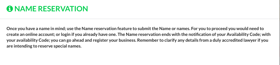 how to register a business name in Nigeria step 2 - by koboline