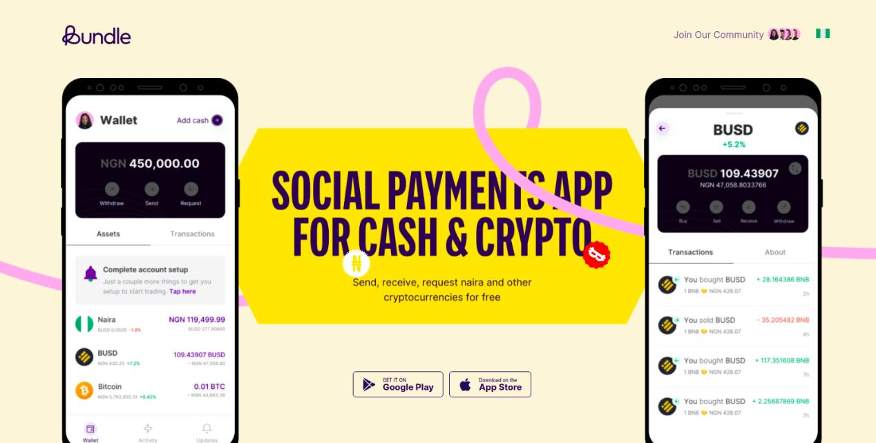 Bundle Africa Review: P2P App for Cash & Crypto in Nigeria