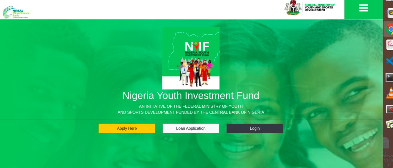 NYIF Loan – Nigeria Youth Investment Fund 2021 Review – Registration & All The Details